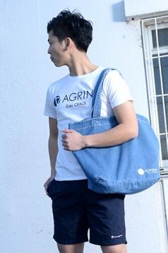 アグリナ / agrina CRACKバケローナトートバック