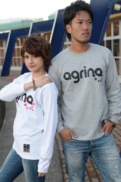 アグリナ / agrina オンビグラコンロングTシャツ