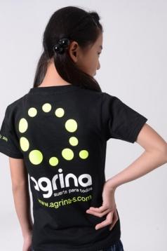 アグリナ / agrina ジュニアグランデコットンTシャツ