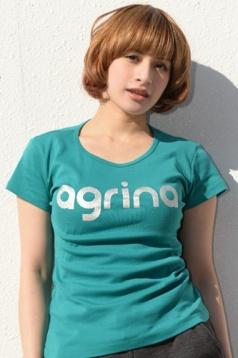 アグリナ / agrina ドルミールフライスTシャツ