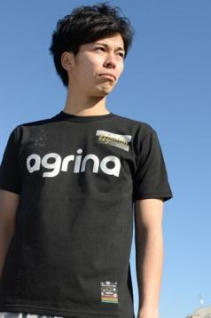 アグリナ / agrina ビボールコットンTシャツ