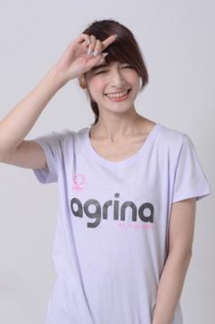 アグリナ / agrina レディースレイミールTシャツ